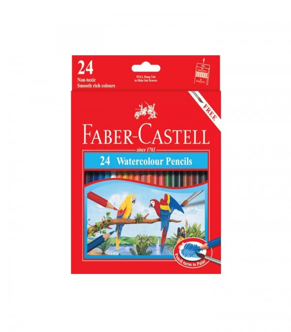 Faber Castell Water Colour Pencils Set of 24