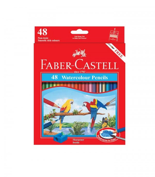 Faber Castell Water Colour Pencils Set of 48