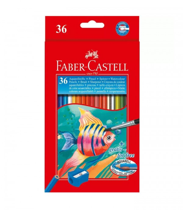 Faber Castell Water Colour Pencils Set of 36