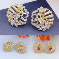 One carat fine quality real stones tops