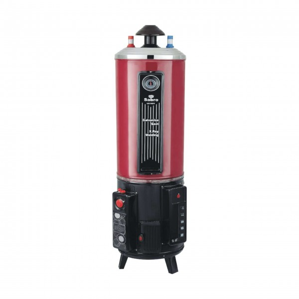 Sabro Gas Geyser Electric & Gas Combo-Red 25GL