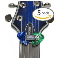5pcs/Set New Hi Volts Guitar Head Stock Rubber Pick Holder For Guitar