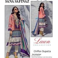 3 Piece Suit Multi Color with Chiffon Dupatta