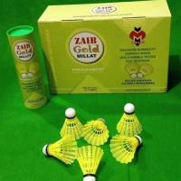Millat Zaib Gold shuttlecock- Pack of 6