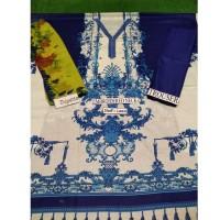 Blue Unstitch Suit 3 piece
