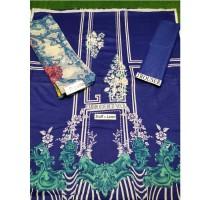 Dark Blue 3 piece unstitch Suit