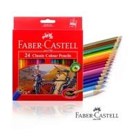 Faber-Castell Classic Colour Pencils 24Pcs