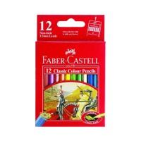 Faber-Castell Colour Pencils 12 Half