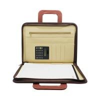 Leather Folder Brown No.134