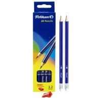 Pelikan Pencil With Eraser & Sharpener