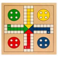 2 in 1 LUDO- Wooden Board M2(Premium Quality)