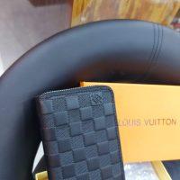 Black Block Ladies Wallet