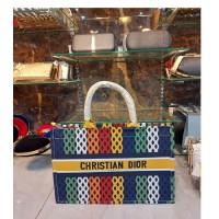 Multi Lining Design Tote Bag