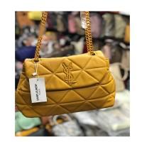 Mustard Ladies Chain Bag