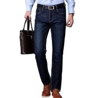 Denim Blue Loose Fit Jeans For Men - Branded Loose Fit Jeans