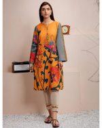 Original Khaadi With Lawn Dupatta Unstitched 3 Pieces Suit