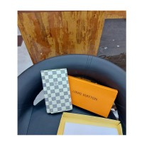 Checked Style Women Wallet