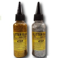Moy Glitter Glue Silver And Golden