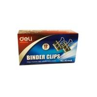 Deli Binder Clip 25mm 12Pcs