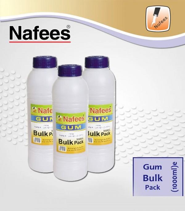 Nafees Gum Bottle Bulk Pack (1000ml)
