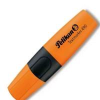 Pelikan Text Marker 490 10 Pieces/ Box - Orange
