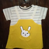Yellow t-Shirt For Baby Girl