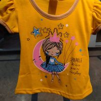 Yellow Fire t-Shirt for Baby Girl