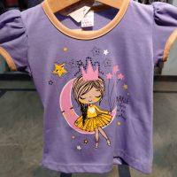 Trendy Purple t-Shirt for Baby Girl