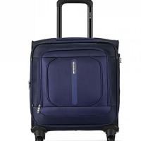 Carlton Tesla 4 Wheel Soft Trolley Bag - Blue