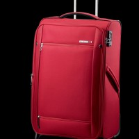 Carlton Expandable Trolley case bright red