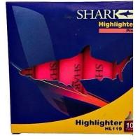 SHARK Highlighter Pack Of 10 HL-119 - Pink