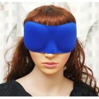 3D Sleeping Eye Mask Royal Blue