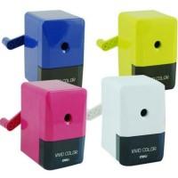 Deli Pencil Sharpener (Vivid Color) 736 - Multi Color