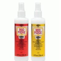 Mod Podge Ultra Gloss And Matt Glue Spray Bottle