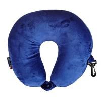 Carlton Micro Beads Travel Neck Pillow Blue