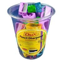 Dux Pencil Sharpener (502) 20Pcs/Box - Multi Color