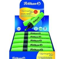 Pelikan Text Marker 490 10 Pieces/ Box - Green